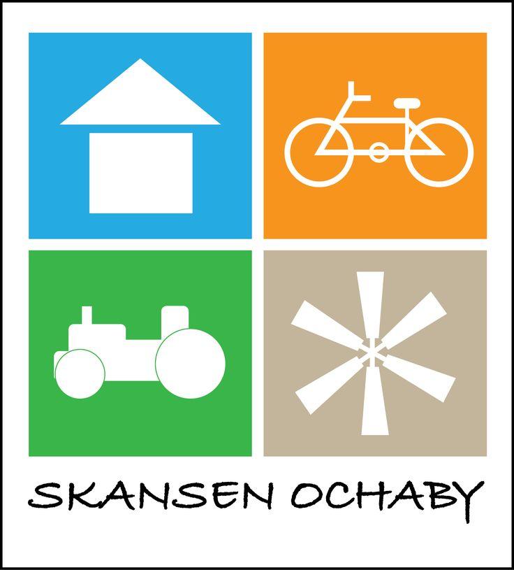 Logotyp zaprojektowany dla Skansenu Ochaby
