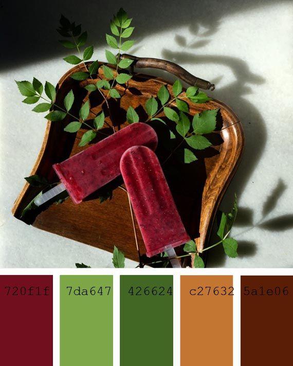 #Paleta de #colores #intensos #turquesa #fpistacho #DelicCafe