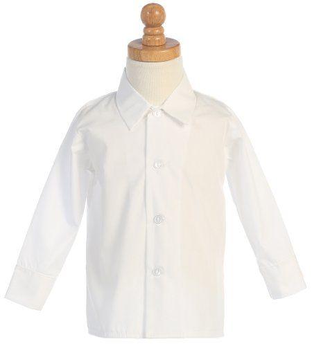 Boys Infant Toddler Child White Long Sleeved Simple Dress Shirt - L Lito http://smile.amazon.com/dp/B00DRMAJ18/ref=cm_sw_r_pi_dp_WWUjvb04X7PEZ