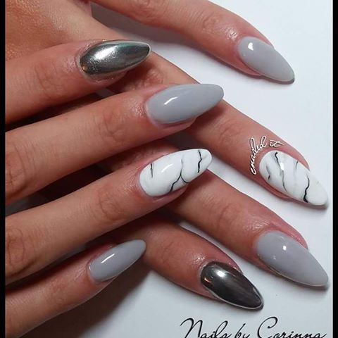 25 best ideas about marble nails on pinterest marble nails tutorial water nails and marbled. Black Bedroom Furniture Sets. Home Design Ideas
