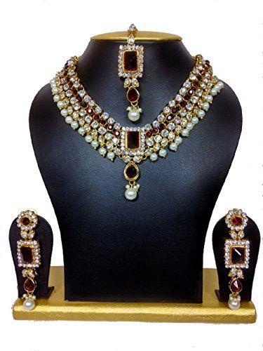 Bollywood Designer Most Maroon square White Stones Kundan... https://www.amazon.com/dp/B01K9TCTE6/ref=cm_sw_r_pi_dp_x_ZvFuzbYQJ0S6W
