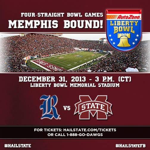 Liberty Bowl Bound #HailState #goOwls  Dec. 31, 2013