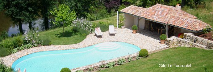 Luxe vakantiehuis Gite Dordogne, Frankrijk. Gite Le Touroulet