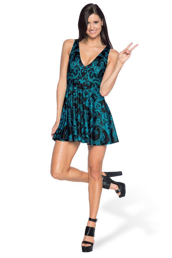 Teal Bath Marilyn Dress - LIMITED – Black Milk Clothing