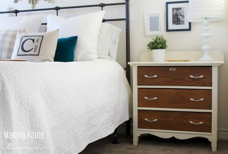 Furniture Makeover - DIY Print Center for an office space