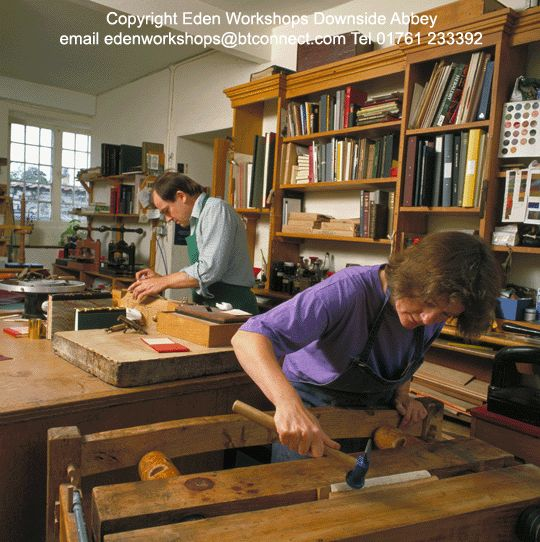 Hi. My name is Richard Norman, my wife Margaret and I run Eden Workshops, we are bookbinders with 30 years experience, we run the www.edenworkshops.com website, which is devoted to hand bookbinding. We supply equipment and machinery, hard to find book fittings and a wealth of free information.