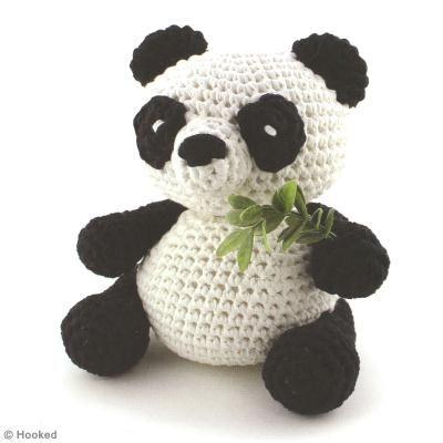 DIY Panda Amigurumi au crochet