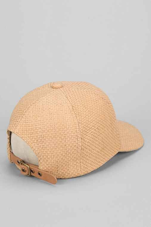 2ae036b1eb2d4 rosin straw baseball strap back hat cremieux metallic cap j crew . straw  baseball cap with cotton brim j crew hat ...