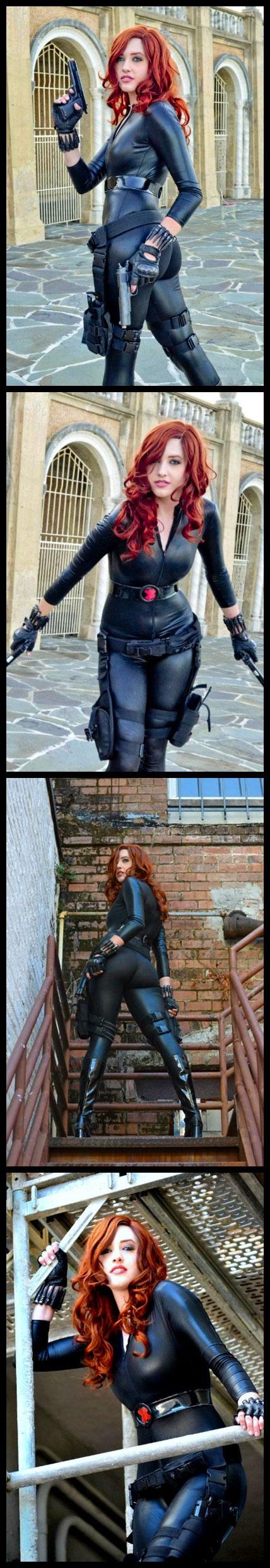 Black Widow | http://www.calliecosplay.com/black-widow/ Auction your comics on http://www.comicbazaar.co.uk