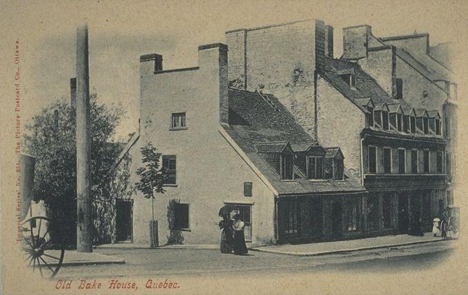 Rue St-Jean, coin d'Auteuil, vers 1900
