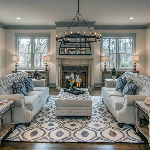 Fascinating Family Room Fireplace Decorating Ideas Exclusive On Interioropedia Home Deco Farm House Living Room Country Living Room Farmhouse Decor Living Room