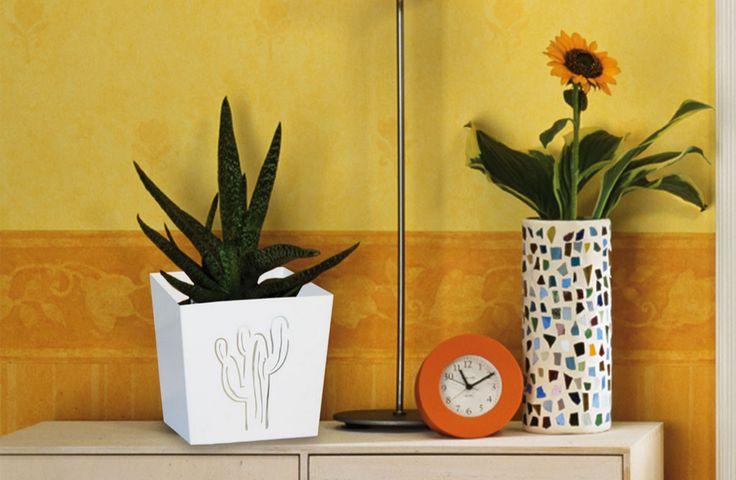 Porta vaso moderno Cactus - MIApot 13 (cm) x 12 (cm)   € 14,50