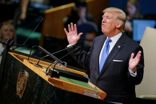 #7 of 10 Most Popular News Galleries of 2017: World...   #7 of 10 Most Popular News Galleries of 2017: World leaders faces react to Trumps U.N. speech  (Originally posted on September 19 2017)  See the countdown of our most popular galleries of the year!  See the rest of our 2017 Year End features >>>  _____  President Trump delivered a harsh message to world leaders on Tuesday bluntly warning that the U.S. may have to totally destroy North Korea if it continues on its current path. Trump…