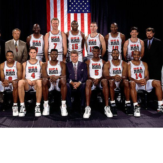 the 1992 united states mens olympic basketball team the greatest team assembled in all of sports This 2004 usa basketball olympic men's team media guide was hand signed by the following players and coaches in jacksonville florida when team usa was training for the 2004 summer olympics.