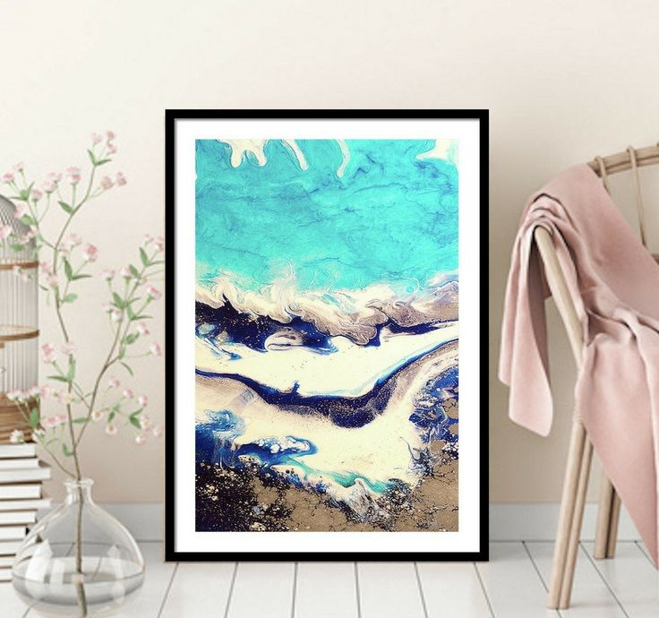 Sydney Harbour 4 Ice Flow 1.2 Right- Antuanelle - Limited Edition Print or Commission original artwork by MarieAntuanELLE on Etsy