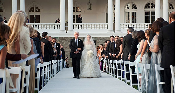 Who could forget Chelsea Clinton's wedding at Astor Courts in Rhinebeck? For more unique Hudson Valley venues, see http://www.hvmag.com/Hudson-Valley-Magazine/January-2012/5-Best-Places-to-Get-Married-in-the-Hudson-Valley/