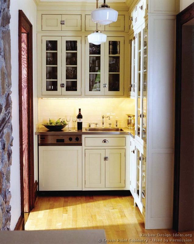 kitchen idea of the day this butlers pantry wet bar has pewter countertops