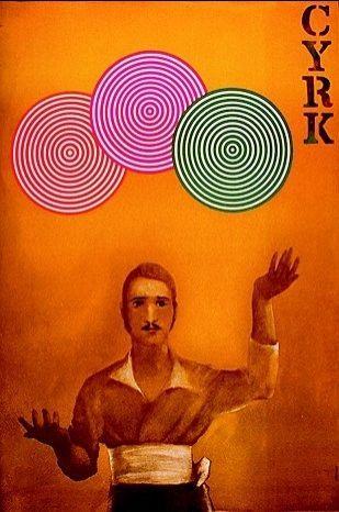 Mustached juggler, 1973 by Maciej Urbaniec