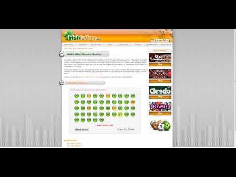 Irish Lottery Results Checker - (More info on: https://1-W-W.COM/lottery/irish-lottery-results-checker/)