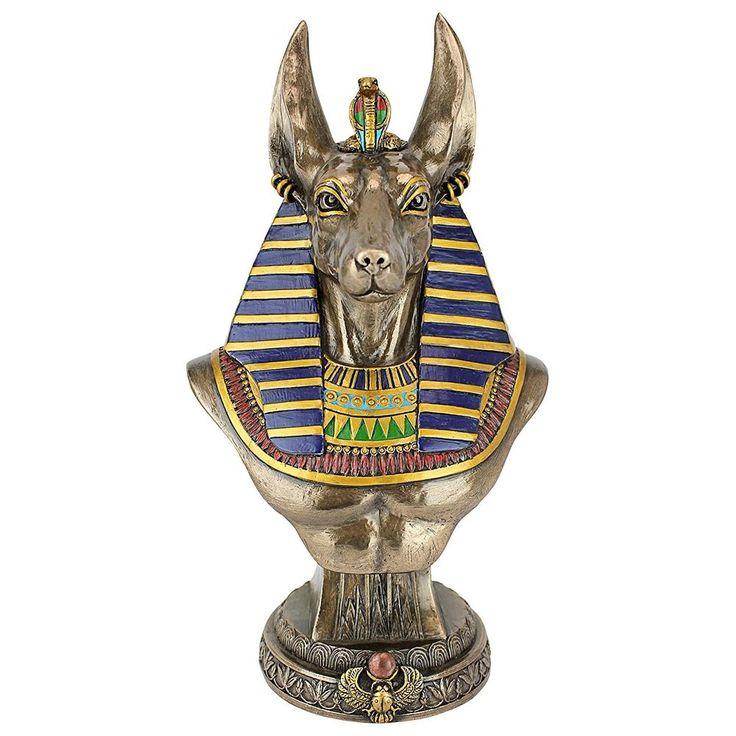 Anubis Anpu Inpu Ancient Egypt Egyptian God Deities African Artwork Statue Decor  offered by shoppingsated on eBay.com