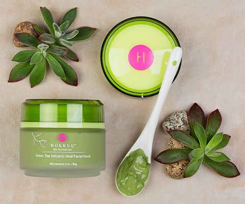 SPECIAL PROMOTION: Hokkuu Green Tea Volcanic Mud Mask. TWO for $15.99 and FREE SHIPPING