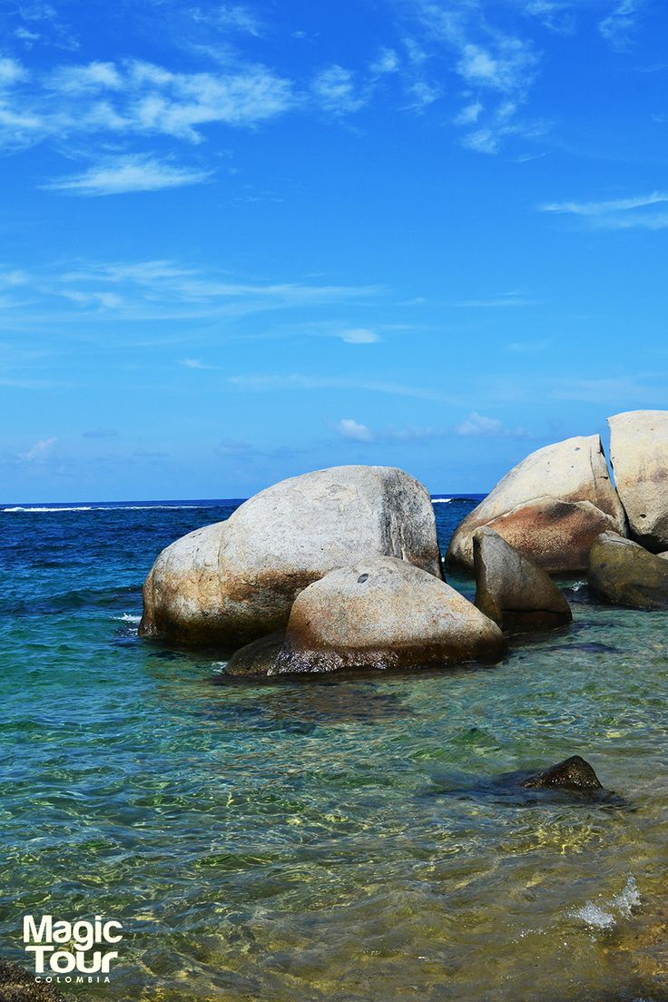 playas del parque nacional natural tayrona #TayronaPark #Beach #Jungle #LandScape #Nature #WeLoveTravel