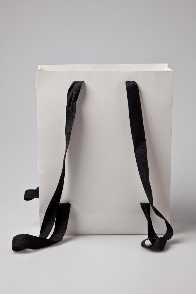 sac à dos en papier