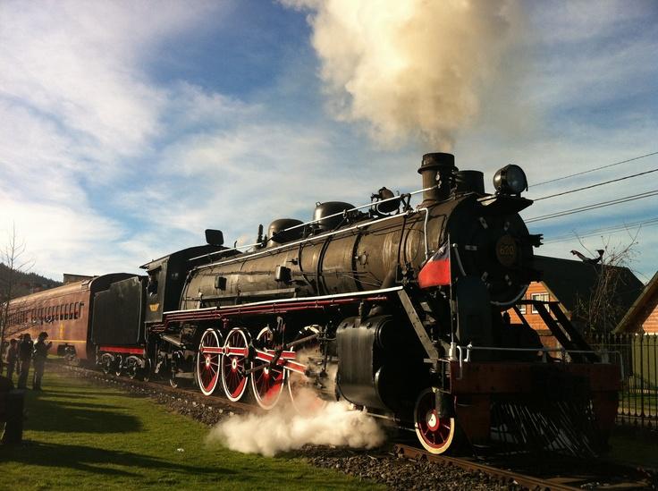 #Tren de la Araucanía. #vapor