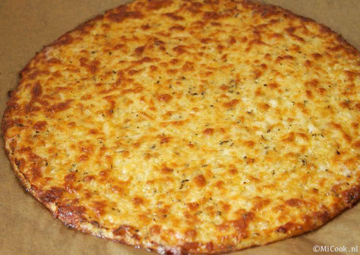 Pizzabodem van bloemkool & mozzarella - MiCook. Geen deeg! Bloemkool in de oven ipv magnetron