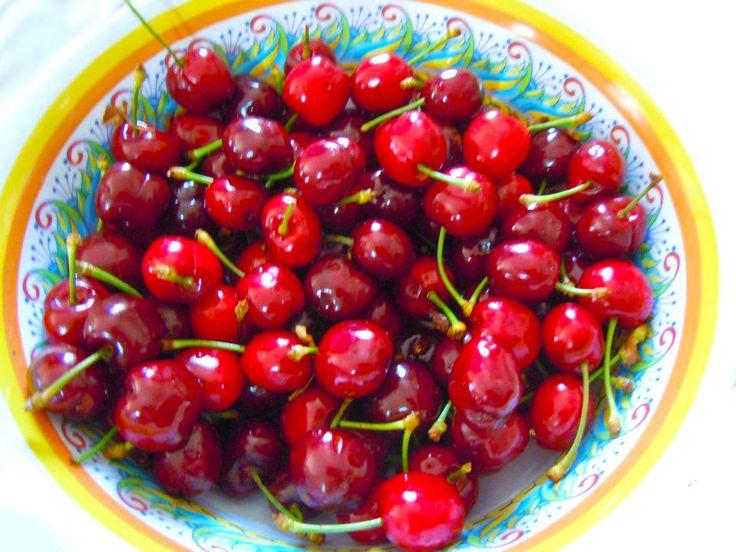 Tempo di ciliegie #ricettedisardegna #sardinia #ricette #recipes