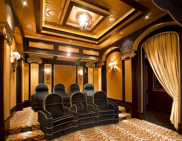Who wouldn't want to go to the movies like this in your own home?