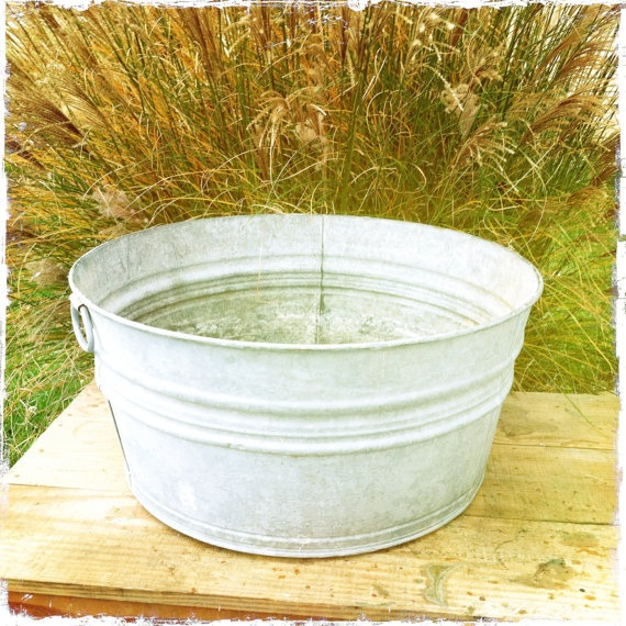 vintage wash tub number 3 by on etsy