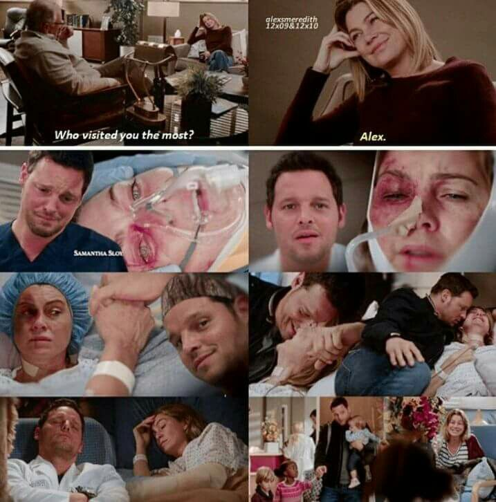 The friendship between Meredith and Alex is my favourite part of this show.