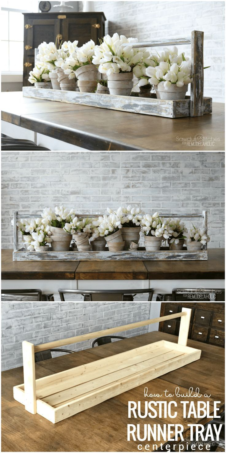50 Creative Diy Wood Craft Projects You Should Try Rustic Table Runners Rustic Wooden Box Rustic Wooden Box Centerpiece