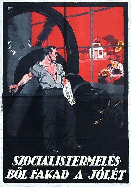 9. prosperity production communist propaganda poster 1919 w
