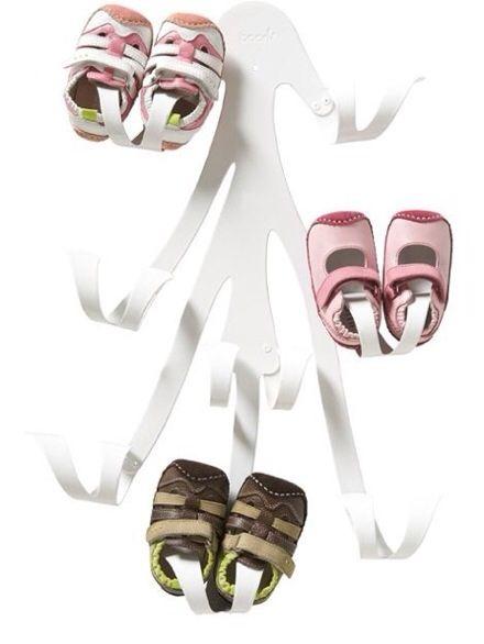 Curl de Boon, organizador de zapatos para bebé , colgador de pared de zapatos para bebé de Boon inc. > Minimoda.es