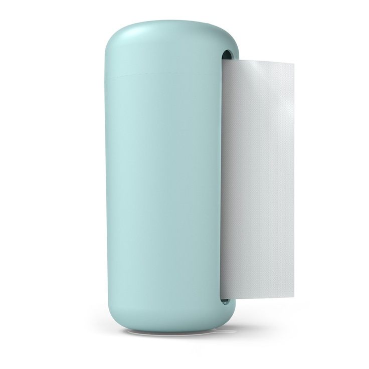 paper towel holder blue