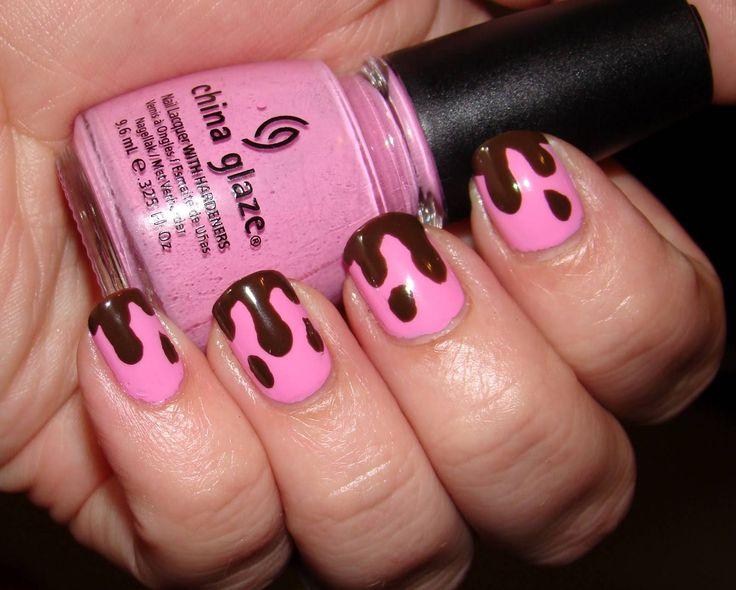 31 best brown nails uas marrones images on pinterest brown 30 fotos de uas decoradas con color marrn brown nails decoracin de uas prinsesfo Image collections
