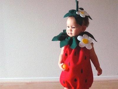 Homemade #kids #Halloween costume called 'Berry Sweet'