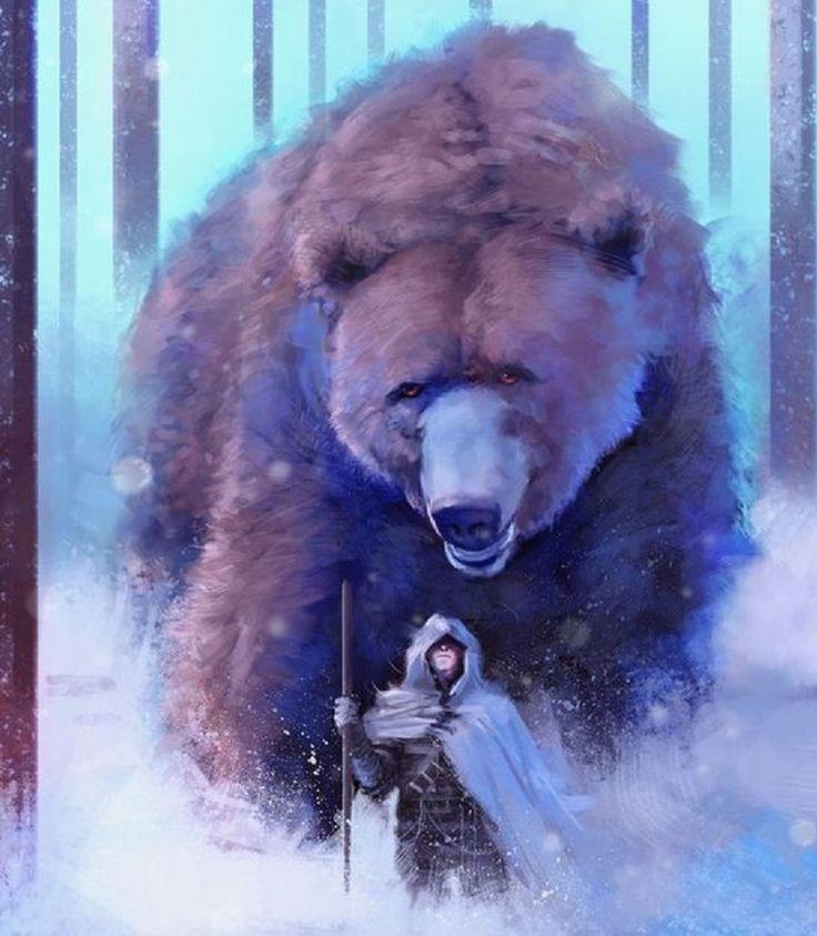 Giant Bear by Frankie Perezar | art | Fantasy art, Fantasy ...
