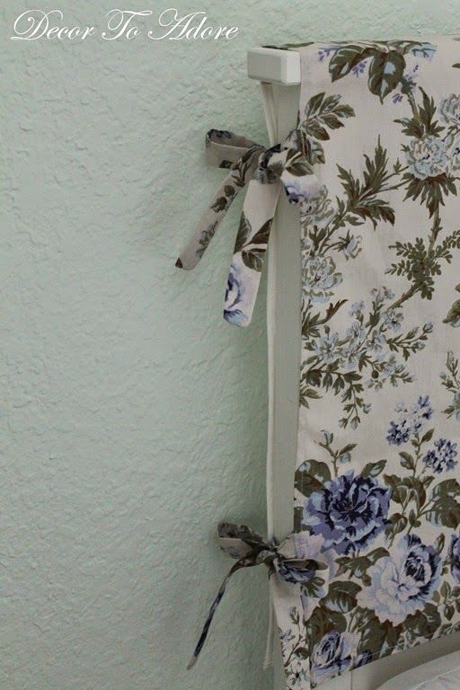 Decor To Adore: A Slipcover for a Headboard