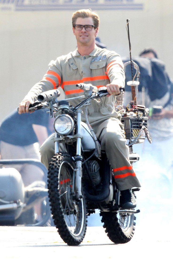 See Chris Hemsworth In His 'Ghostbusters' Uniform
