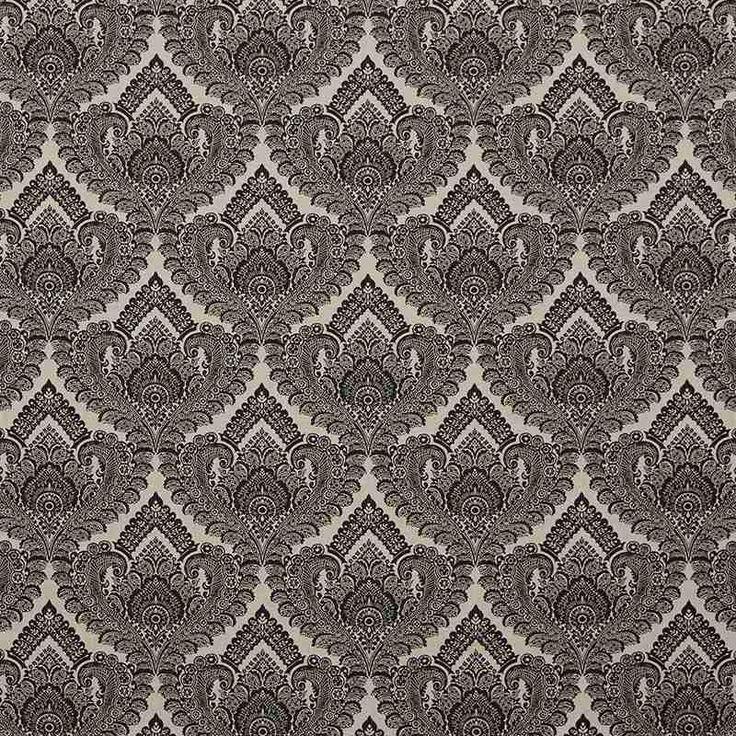 Warwick Fabrics : LUXEMBOURG, Colour EBONY