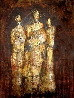 Tre Figure Estratto     Artist   Tom Matucci