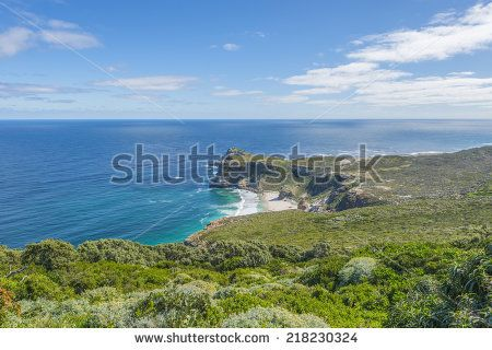 http://www.shutterstock.com/pic-218230324/stock-photo-cape-point-landscape-located-near-the-city-of-cape-town-south-africa-the-peninsula-has-towering.html?src=l2UmwzKl67EMHu1DgRoo8g-1-27 Cape Point Landscape, Located Near The City Of Cape Town, South Africa. The Peninsula Has Towering Rock Cliffs That Overlook The Beautiful Ocean View. A Tourism And Travel Hot Spot. Stock Photo 218230324 : Shutterstock