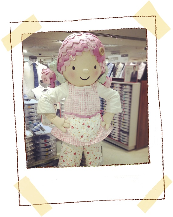 Emily Button visited Marks and Spencer at Trinity shopping centre in Leeds.