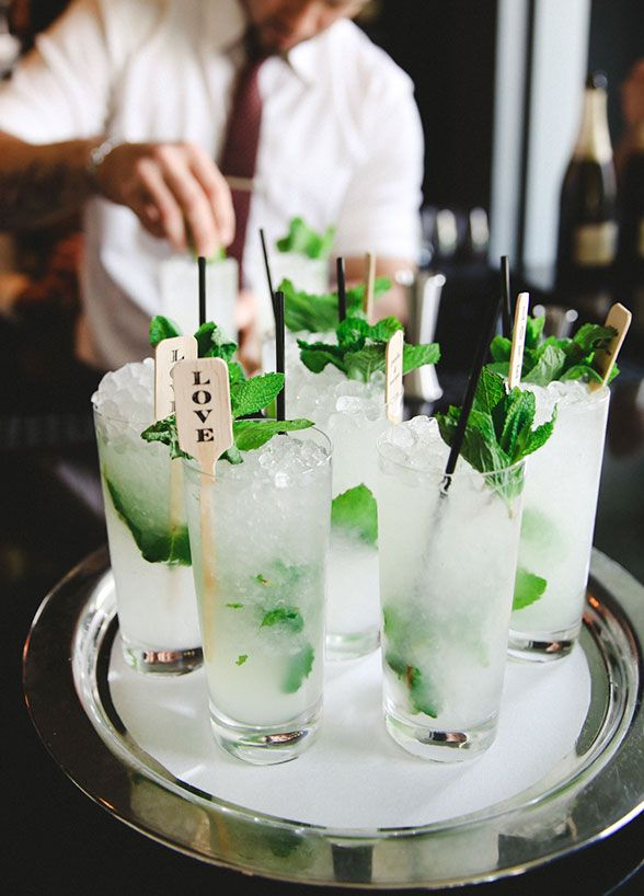 Having a couple of signature drinks such as mojitos and lemonade...refreshing!