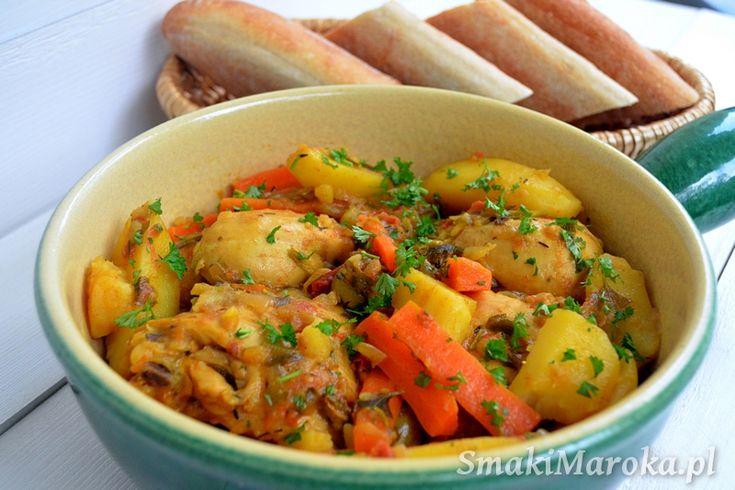 Ziemniaki z marchewką po marokańsku (z szybkowaru)