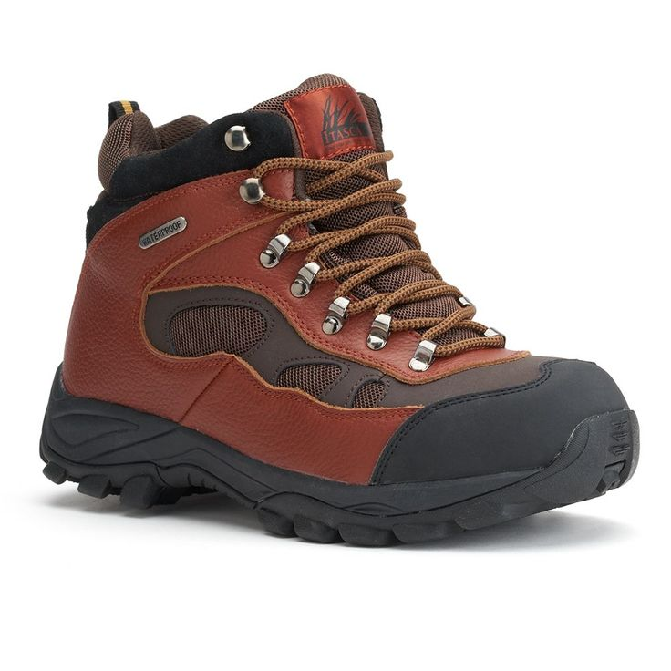 Itasca Contractor Men's Steel-Toe Hiking Boots, Size: medium (11.5), Brown
