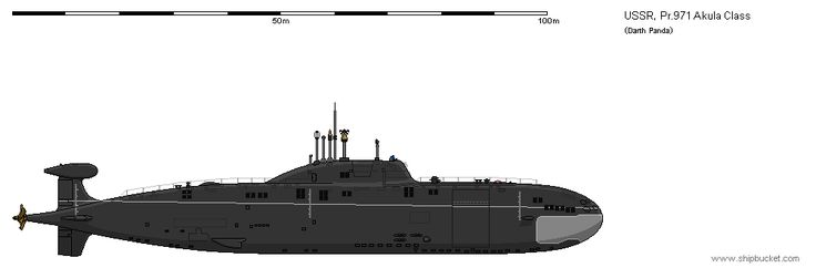 Project 971 Akula Class Submarine by darthpandanl on DeviantArt